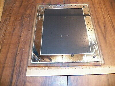 Vintage Art Deco Mirrored Glass Picture Frame