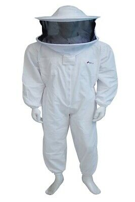 Beekeeping Protective Full Body Bee Jacket Suit/ Round Hat/Size Medium