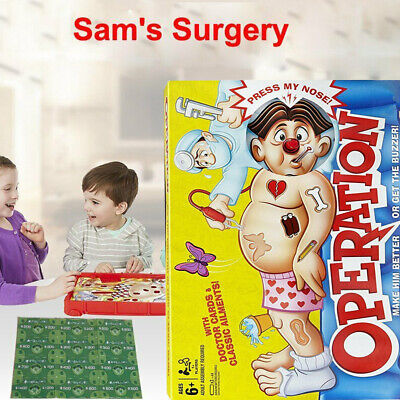 Operation Game Kids Family Classic Board Game Fun Childrens Xmas Gifts Toys