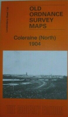 Old Ordnance Survey Maps Coleraine (North) Co Londonderry 1904 Godfrey Edition