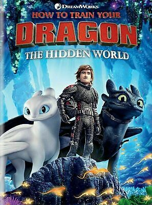 How to Train Your Dragon 3:The Hidden World DVD. New with free postage. Region 2