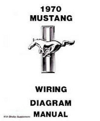 1970 Ford Mustang Wiring Diagram Manual