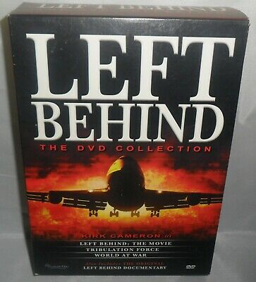 Left Behind Trilogy (DVD, 2008, 4-Disc Set) .. Nice Previously Owned Condition