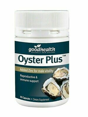 Good Health Oyster Plus 60 capsule with Zinc
