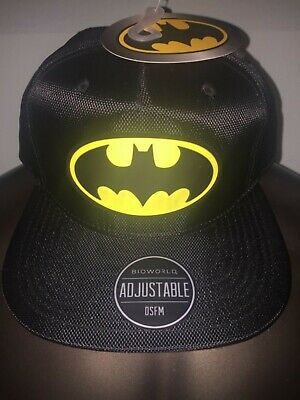 outlet store sale best sneakers many fashionable JUSTICE LEAGUE BIOWORLD Black Hat White Puff - Free Shipping ...