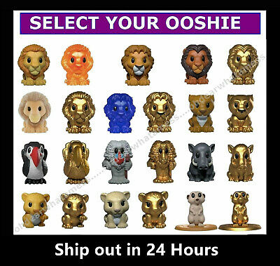 WOOLWORTHS Disney The Lion King Ooshies - Pick and Choose your Ooshie or Case