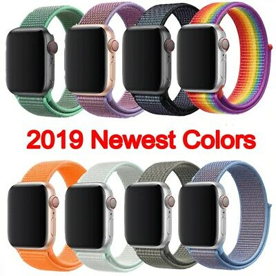 38/40mm 42/44mm Replacement Nylon Sport Loop iWatch Strap Band For Apple Watch