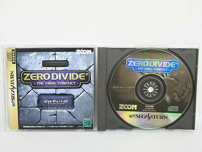 ZERO DIVIDE the Final Conflict Sega Saturn Japan Game ss
