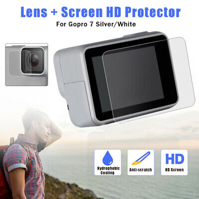 Screen Protectors Tempered Glass Film Kit Replacement For GoPro Hero 7 Camera