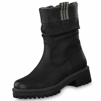 TAMARIS DAMEN STIEFEL Winter Boot 26289 Nubuk Leder Schuhe