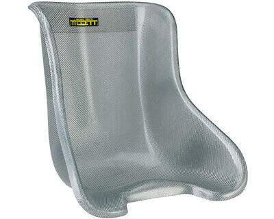 Go Kart Synergy T8 Vti No Cover Seat Cadet (Cut Down) CCD Silver Karting Racing