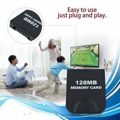 128MB High Speed Memory Card Save Game Data Card for Nintend GAMECUBE MB