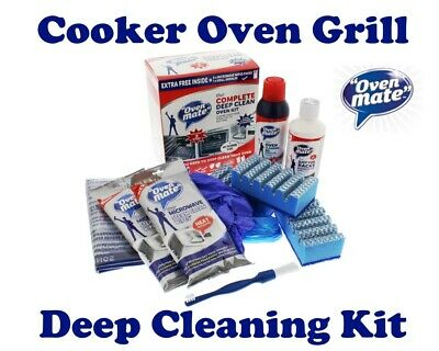 Oven Mate Deep Clean Cooker Oven Grill Kit