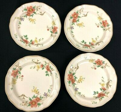 "Lot of 4 - Mikasa Heritage CAPISTRANO F2010 8.5"" Soup Cereal Rimmed Bowl (1)"