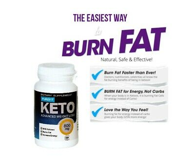 PUREFIT KETO ADVANCED WEIGHT Loss - 60capsule! Chetosi! Dieta Keto! Molto forte!