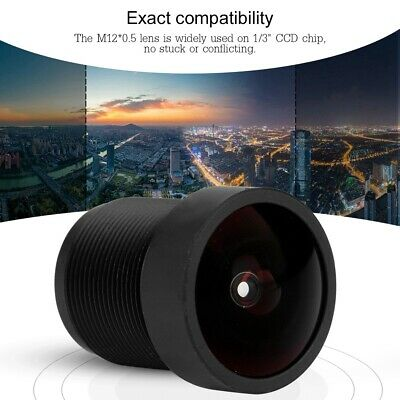 """1/3"""" 2.1mm M12*0.5P 160º Wide Angle CCTV Lens IR Board for Security CCD Camera"""