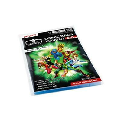 Ultimate Guard Comic Comic Bags - Current, Big (10 Packs of 100) MINT