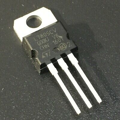 10PCS L7805CV LM7805 7805 5V Linear Voltage Regulator TO-220  USA Fast Shipping