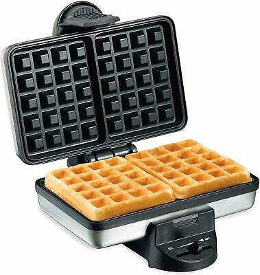 Hamilton Beach 26009 Nonstick Belgian Waffle Maker, Easy to Use, Clean and Store