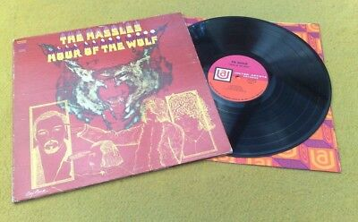 "The Hassles "" Hour Of The Wolf ""Awesome Usa Orig Promo Stamped Ft. Billy Joel"