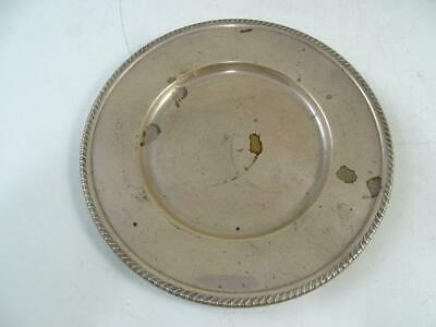 """Vintage Sterling Silver Anston Small Tray Plate Dish 6.25"""" Wide 62.6 grams Old"""