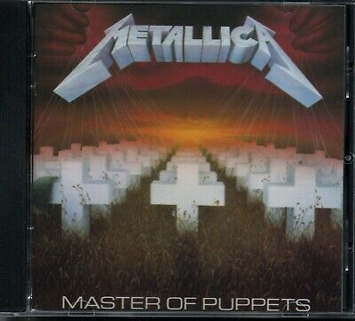 METALLICA - Master Of Puppets - CD Album *Early EDC Germany Pressing* *MINT*