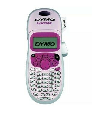 DYMO LetraTag Personal Label Maker - Pink BRAND NEW FREE SHIPPING