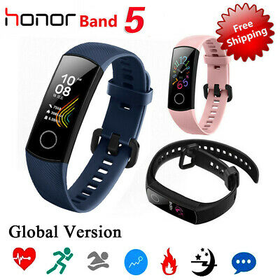 "Original Huawei Honor Band 5 Smart Wristband AMOLED 0.95"" Touchscreen 5ATM DE"