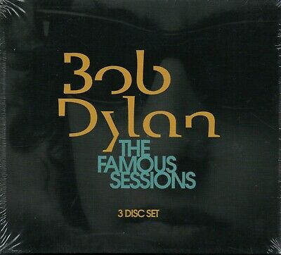 BOB DYLAN - The Famous Sessions - 3xCD Album *NEW & SEALED*