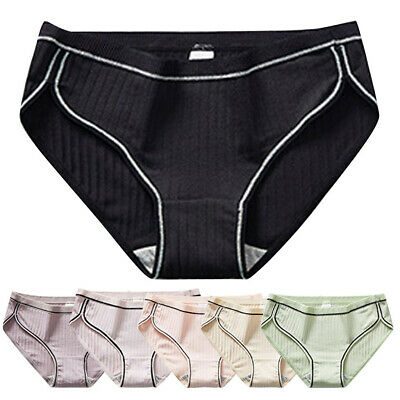 Women Sexy Pure Cotton knickers Sexy Breathable Thread Underpants Underwear