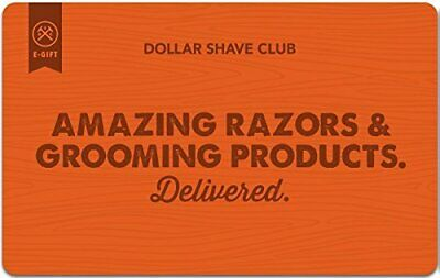 Dollar Shave Club Gift Card - $65 - Email delivery 1h