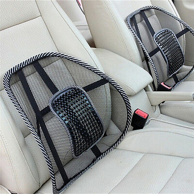 UK Comfort Lumbar Lower Seat Cushion Pain Relief Car Seat Support Office Chair