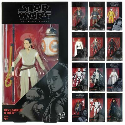 Star Wars Action Figures The Black Series 6 Inch Poseable Collectable Toys 4+