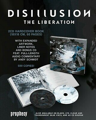 DISILLUSION The Liberation (Limited Hardcover Book Edition) 2 CD NEU & OVP 06.09