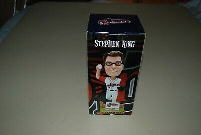 Stephen King Spinners FRIDAY the 13th 7-13-12 Bobble Head In Original Box, MIB