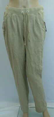 BCG lifestyle quest II pleated oxford tan Pants,womens size M - stained