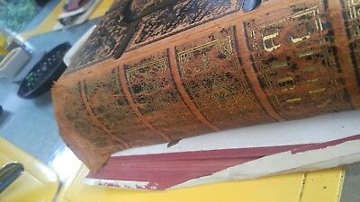 The holy Bible and new Testament by Vandersloot Antique Religion 1872