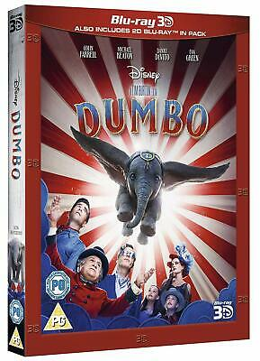 DUMBO (2019) 3D + 2D Blu-Ray with slipcover BRAND NEW - In Stock Now!