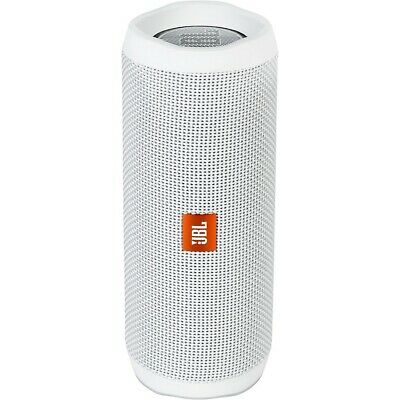 JBL Flip4 Portable waterproof speaker with Bluetooth and microphone White LN