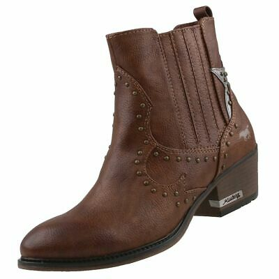 Bottes MUSTANG Bottines CHAUSSURES NEUF pour Bootys Femme WE2D9YHI