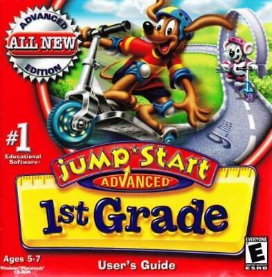 JUMPSTART 4TH GRADE Haunted Island PC MAC CD learn math
