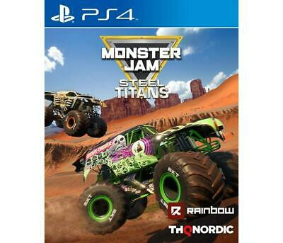 Giochi Sony PS4 KOCH MEDIA - MONSTER JAM - STEEL TITANS   Piattaforma PS4