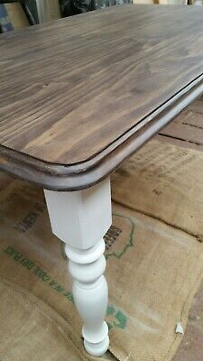 Rustic farmhouse style dining table French Provincial style dining table