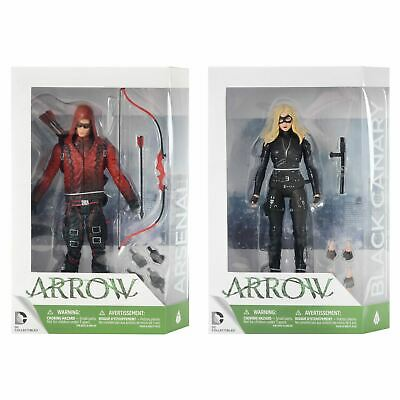 DC Comics Collectibles Arrow Poseable Action Figures Boxed Arsenal Black Canary
