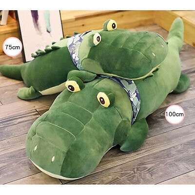 75Cm Big Plush Crocodile Sleeping Cushion Padded Pillow
