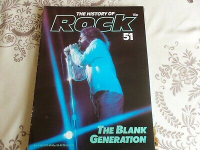 The Blank Generation History Of Rock Magazine   Number  51