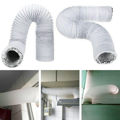3M 15cm Dia Exhaust Hose PVC Flexible Ducting Air Conditioner Exhaust Hose Repla