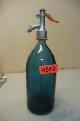 4510. Alte Sodaflasche  Siphonflasche 1 L  Old Soda Siphon Seltzer Bottle