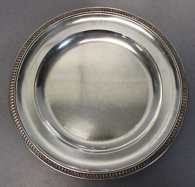 """Tetard Freres 13"""" Sterling 950 Silver Serving Plate/Tray"""