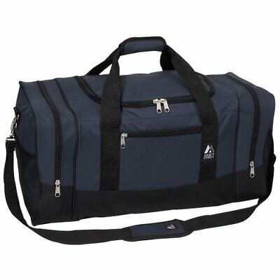 Everest Luggage Sporty Gear Bag - Large, Navy/Black, Navy/Black, One Size